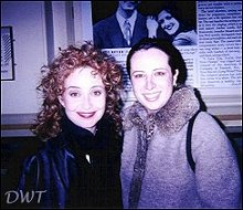 Annie Potts and Elana Bernal