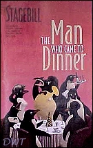 Man Who Came to Dinner playbill