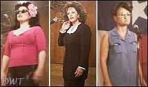 Delta Burke, Bonnie Bedelia & Beth Grant