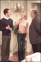 Elon Gold, Bonnie Somerville and Dennis Farina