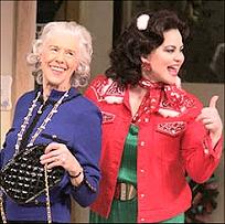 Frances Sternhagen and Delta Burke